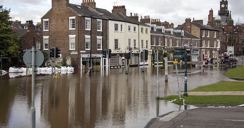 Localised flooding in your area