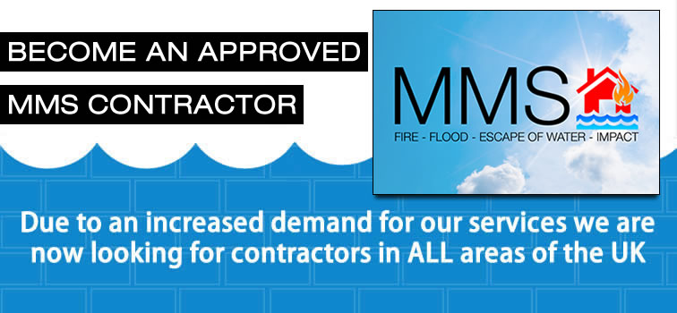 Become an approved MMS Building Contractor