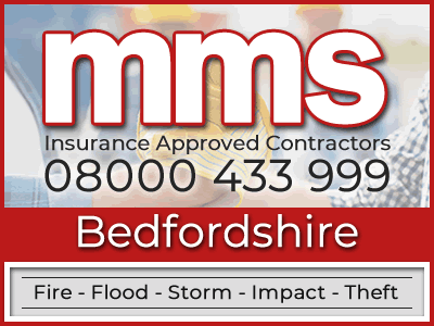 Insurance approved builders in Bedfordshire