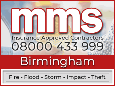 Insurance approved builders in Birmingham