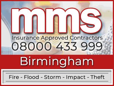 Insurance approved builders in Birmingham