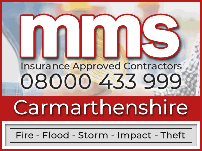 Insurance approved builders in Carmarthenshire