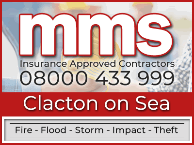 Insurance approved builders in Clacton on Sea