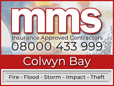 Insurance approved builders in Colwyn Bay