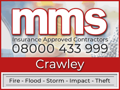 Insurance approved builders in Crawley