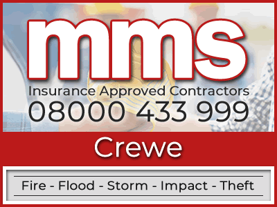 Insurance approved builders in Crewe