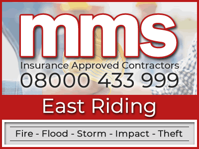 Insurance approved builders in East Riding