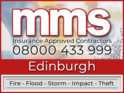 Insurance approved builders in Edinburgh