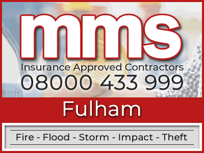Insurance approved builders in Fulham