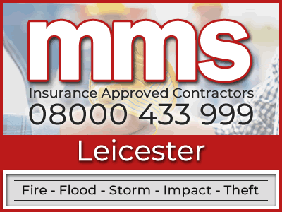 Insurance approved builders in Leicester