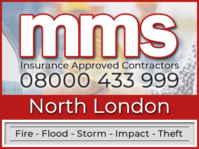 Insurance approved builders in North London