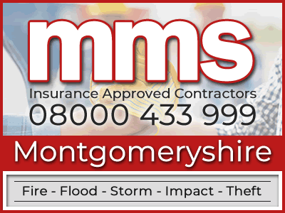Insurance approved builders in Montgomeryshire