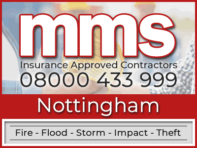 Insurance approved builders in Nottingham