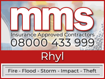 Insurance approved builders in Rhyl