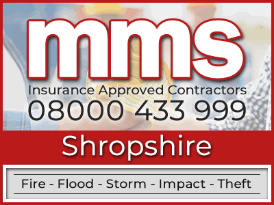 Insurance approved builders in Shropshire