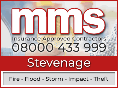 Insurance approved builders in Stevenage
