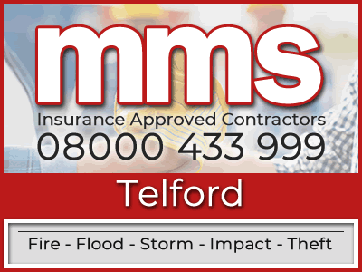 Insurance approved builders in Telford