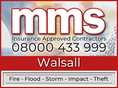Insurance approved builders in Walsall