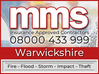 Insurance approved builders in Warwickshire