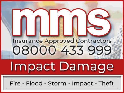MMS Contractors can help repair your property if it has suffered from impact damage