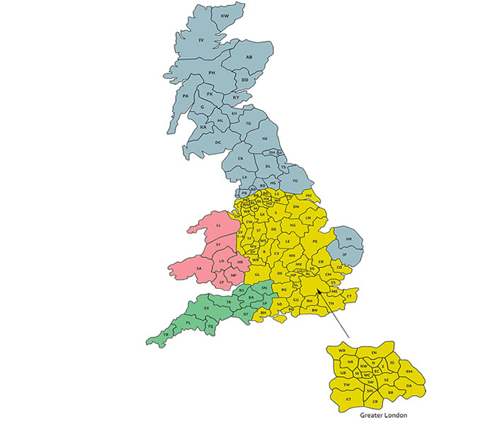 Our contractors Cover the whole of the UK